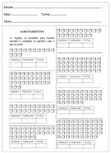 Atividades de matemática 1º ano. Todas as atividades de matemática estão em um excelente formato para trabalhar, adição, subtração, quantidades.