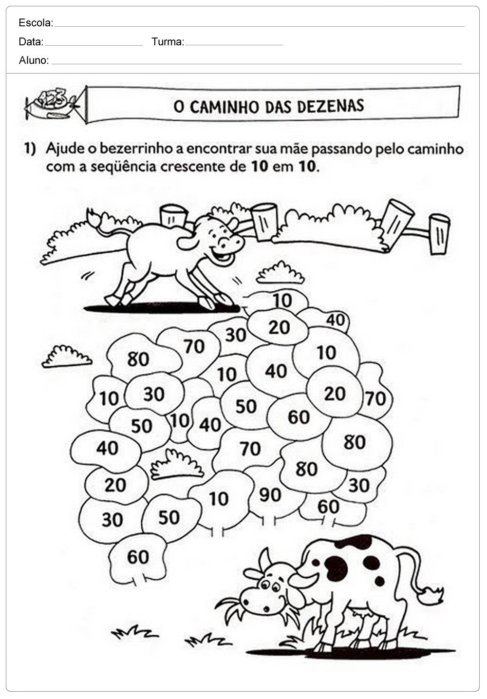 As melhores atividades de matemática 1° ano para imprimir com exercícios de soma com dedinhos, contendo questões organizados e de fácil entendimento para os alunos já que possui imagens ilustrativas que pode ser colorida a critério do professor.