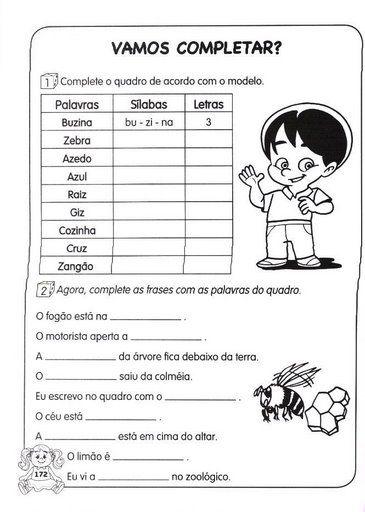 Atividades de Português 1º, 2º, 3º, 4º e 5º ano do Ensino Fundamental