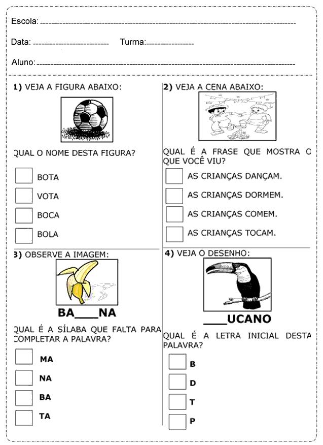 Muito Atividades de Português 1 ano para imprimir - Ensino Fundamental. MZ81
