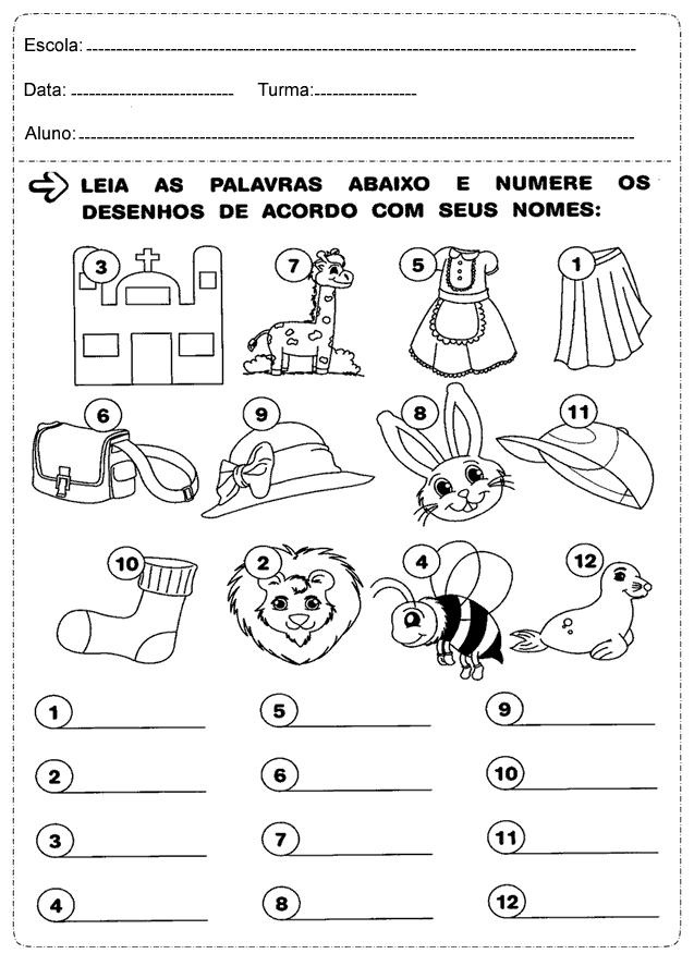 Atividades 1 Ano Portugues Alfabeto Educacao E Transformacao