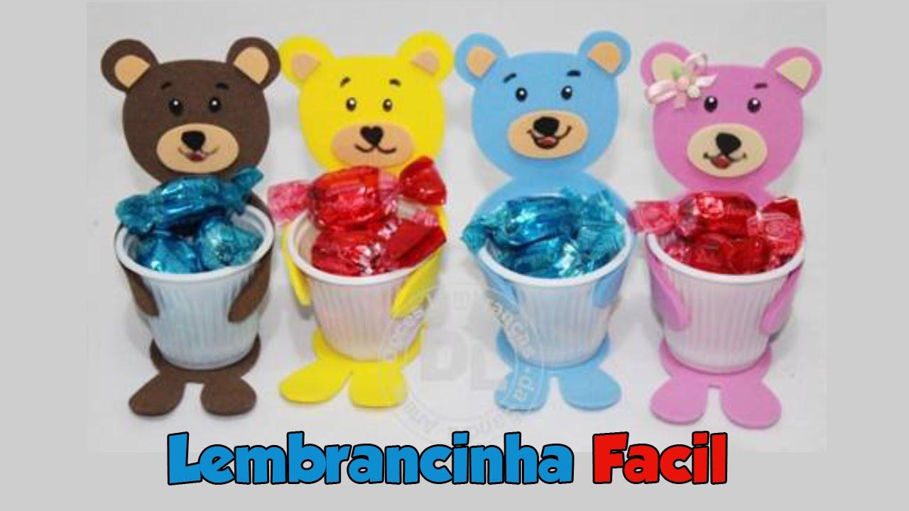 Atividades para projeto dia das crianças.: Lembrancinha com Ursinho.