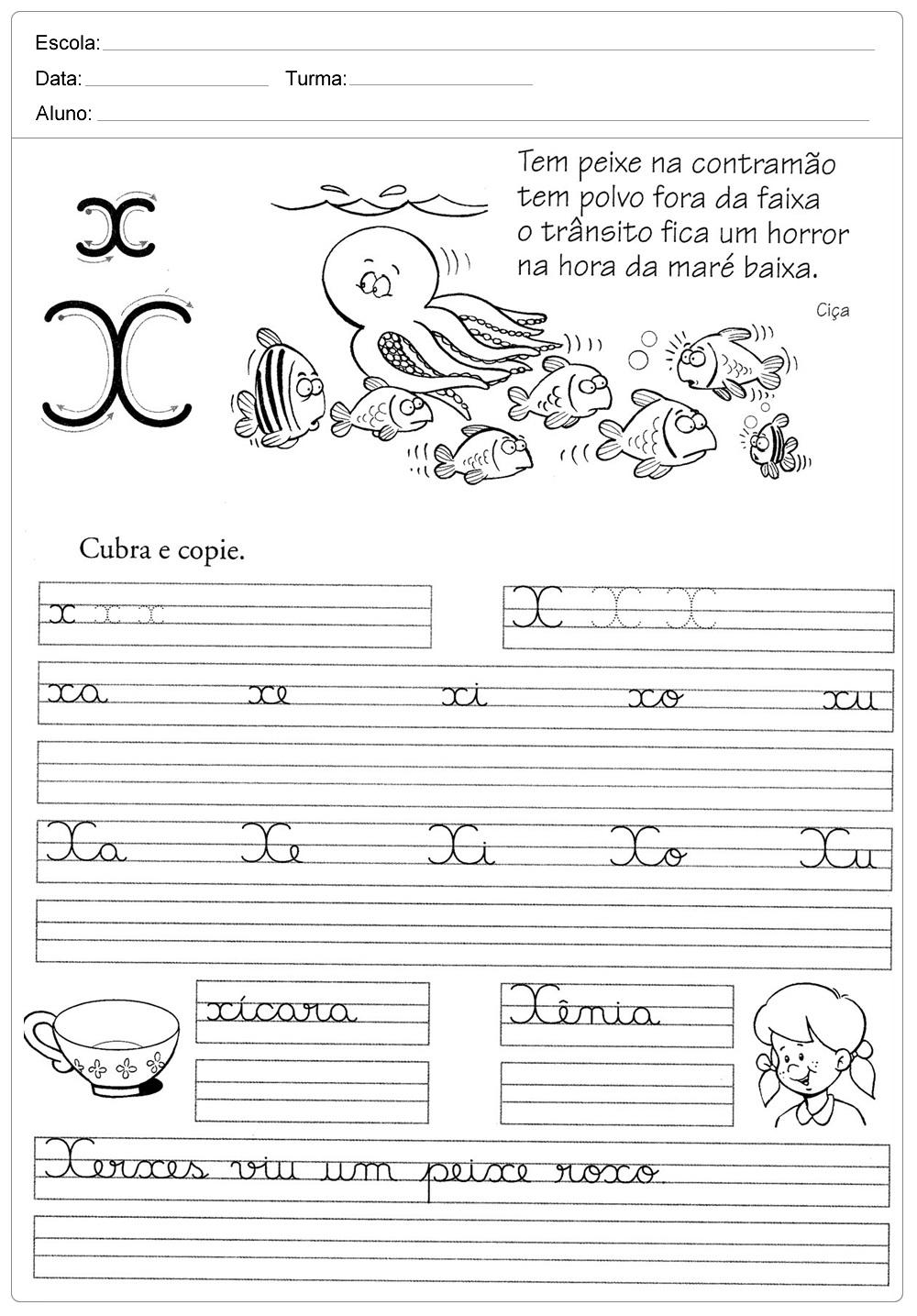 atividade-de-caligrafia-letra-X