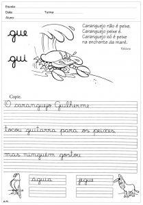 Atividades decaligrafiacom a letra Q- para imprimir