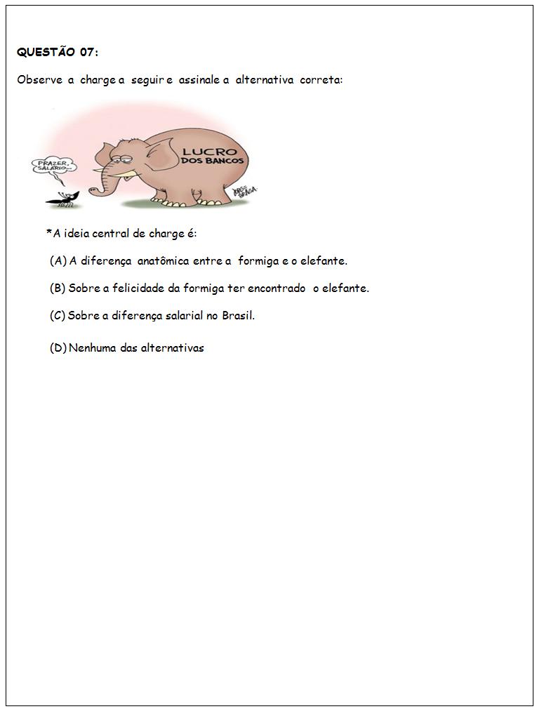 Atividades de português 5 ano do Ensino Fundamental - Para Imprimir
