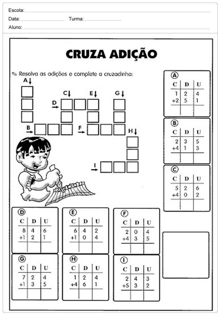 Atividades De Matematica 1º 2º 3º 4º E 5º Ano Do Ensino Fundamental