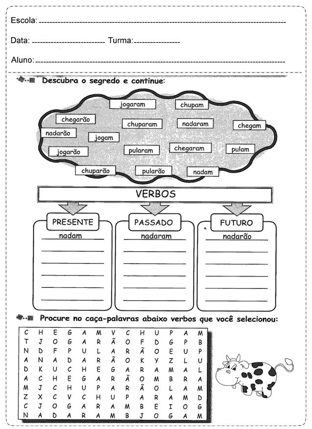 atividades-de-portugues-5o-ano-verbos