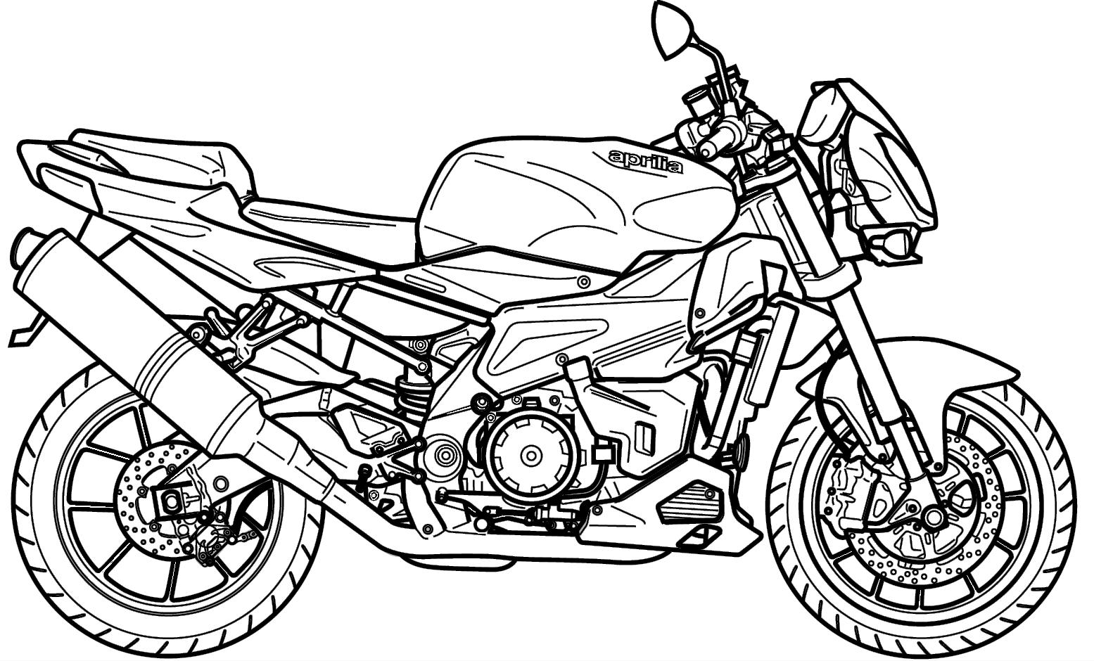 Desenhos Para Colorir Semana Do Transito Moto Xj6 Educacao E