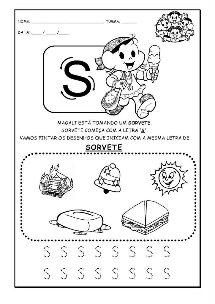 Atividades De Alfabetizacao Educativas Para Imprimir Gratuitamente