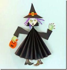 Plano de aula dia das bruxas para alunos do Berçário ao Pré - Sugestão de Atividades.