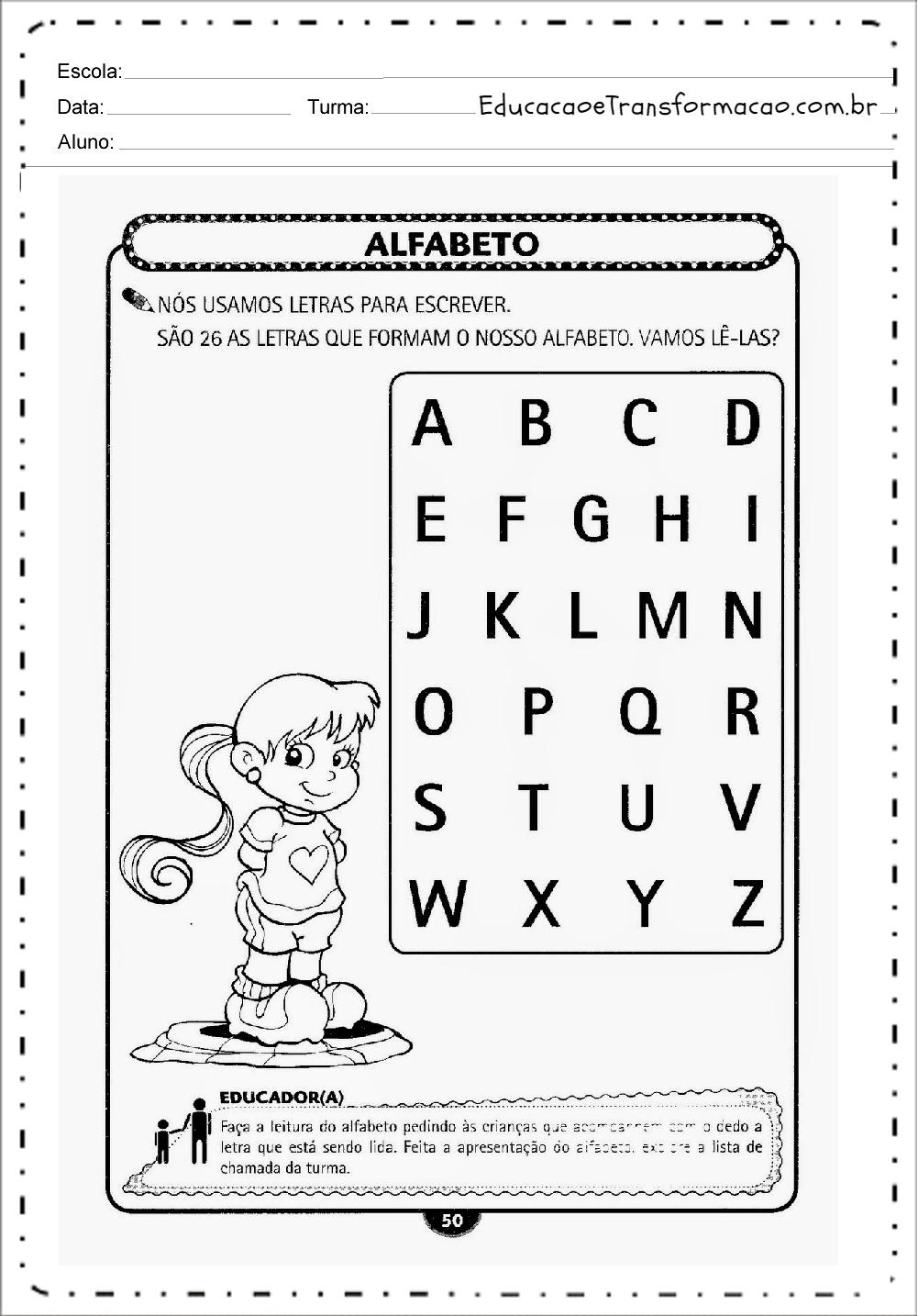 Favoritos Atividades para Educação Infantil para imprimir - Atividades  SV26