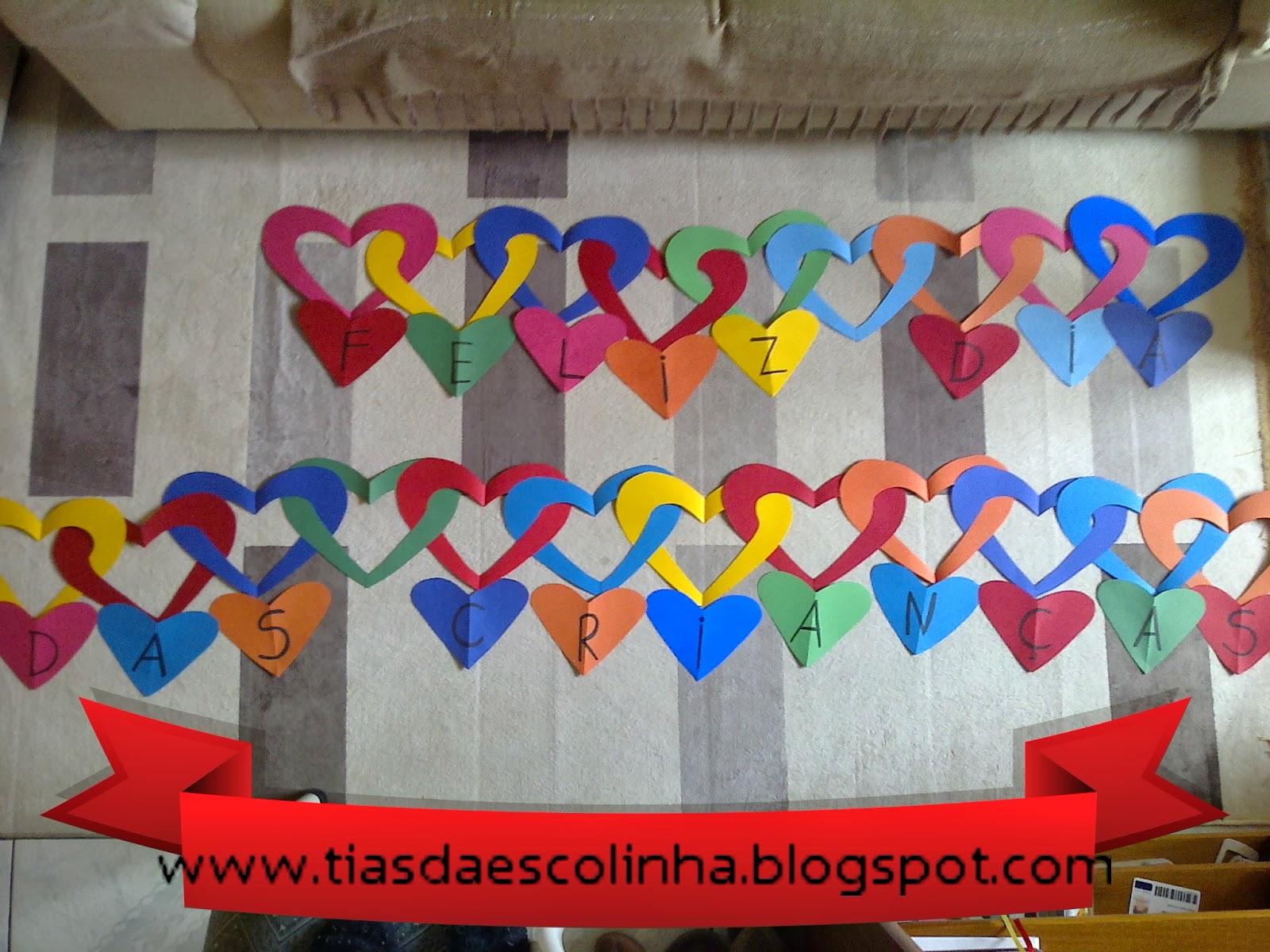 Decoração da escola para Dia das Crianças - Ideias e Sugestões.