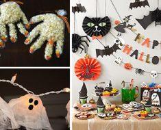 Decoração para Dia das Bruxas para Festas e Escolas - Dicas e Moldes.