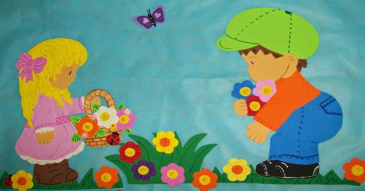 Moldes Para Primavera Estação Das Flores Flores Arvores
