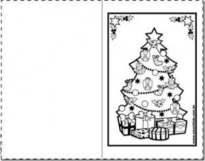 cartao de natal imprimir colorir 1 educação e transformação