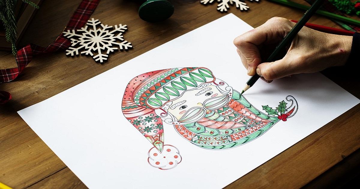 Desenhos De Natal Para Imprimir E Colorir Desenhos Para Pintar