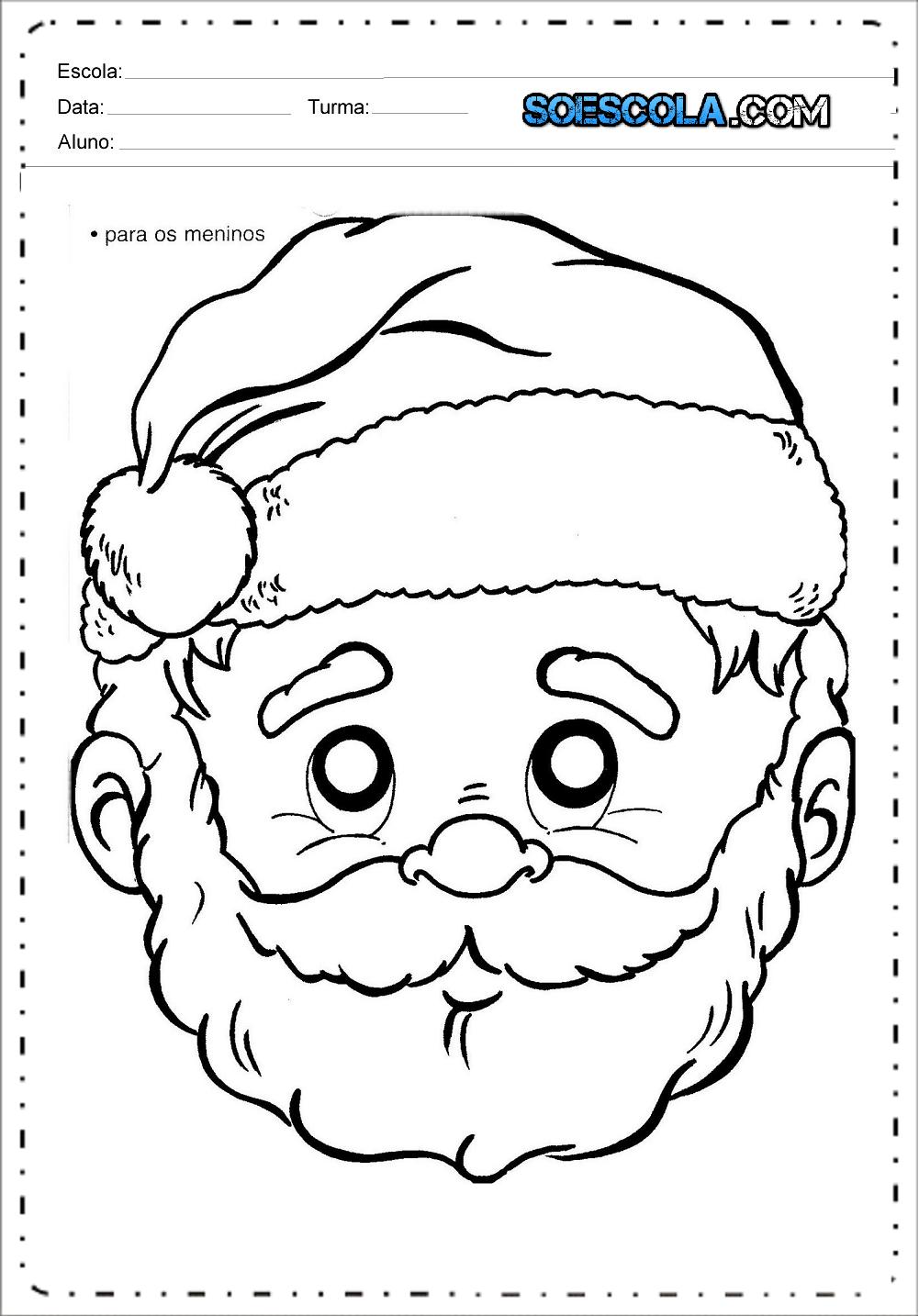 mascaras-de-natal-papai-noel