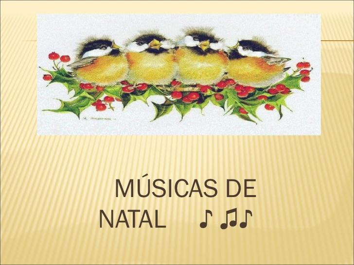 Músicas de Natal para imprimir - Letras de Músicas Natalinas para copiar