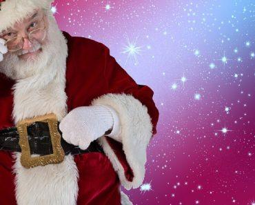 A história do Papai Noel - Texto sobre Natal para copiar e imprimir