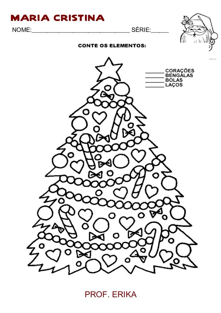 Atividades de Natal 3 ano do Ensino Fundamental para imprimir