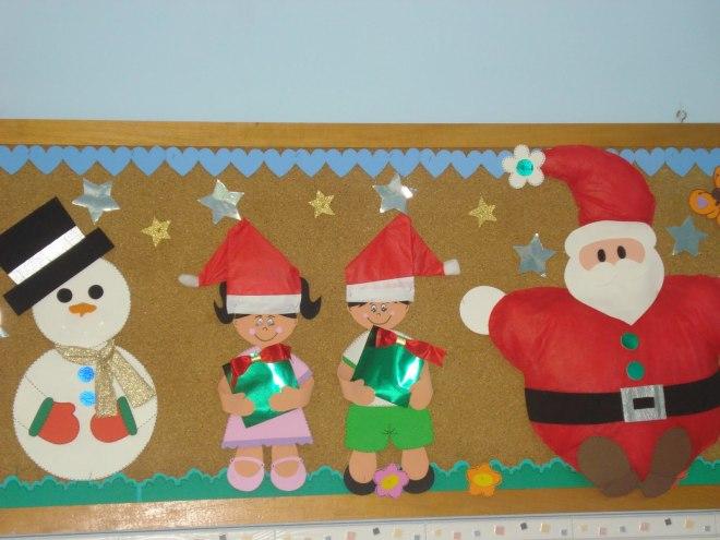 Murais de Natal para escola - Cartazes para o Natal em EVA e Feltro