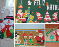 Murais de Natal para escola - Cartazes para Sala de Aula