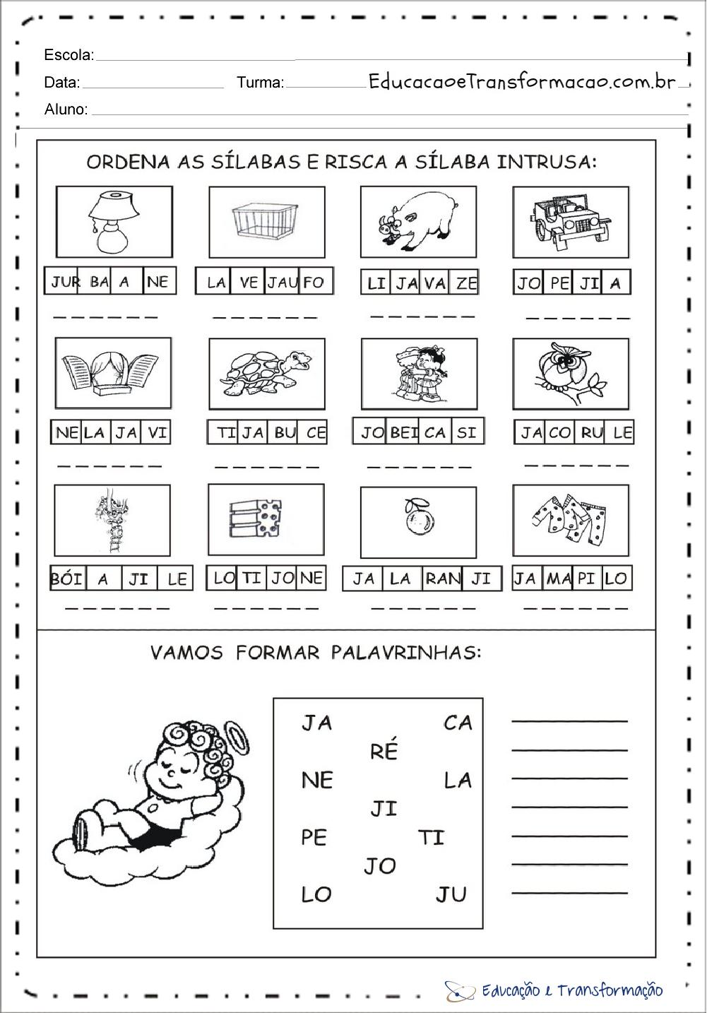 Atividades volta às aulas 2 ano - Brincadeiras e Dinâmicas 2º ano