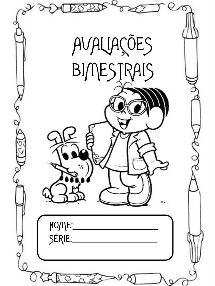 Suficiente Capas para caderno ilustradas e para colorir - Para professores e  TW88