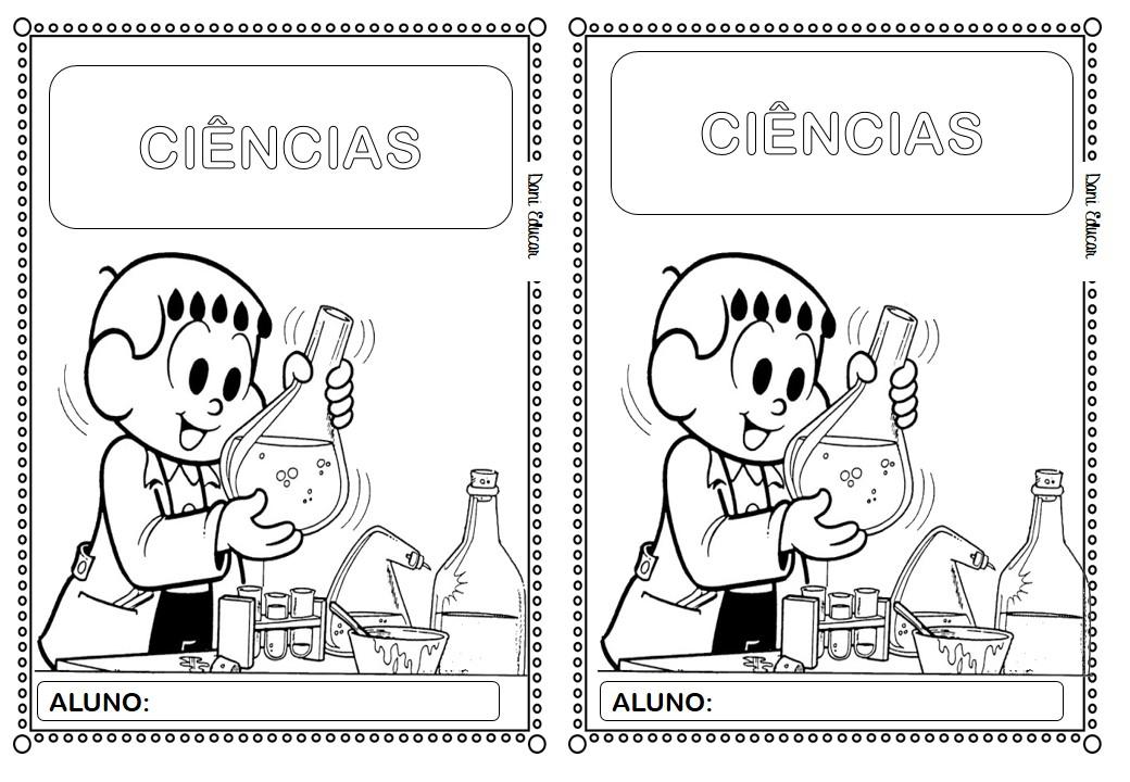 Capa Para Caderno De Ciencias Educacao E Transformacao
