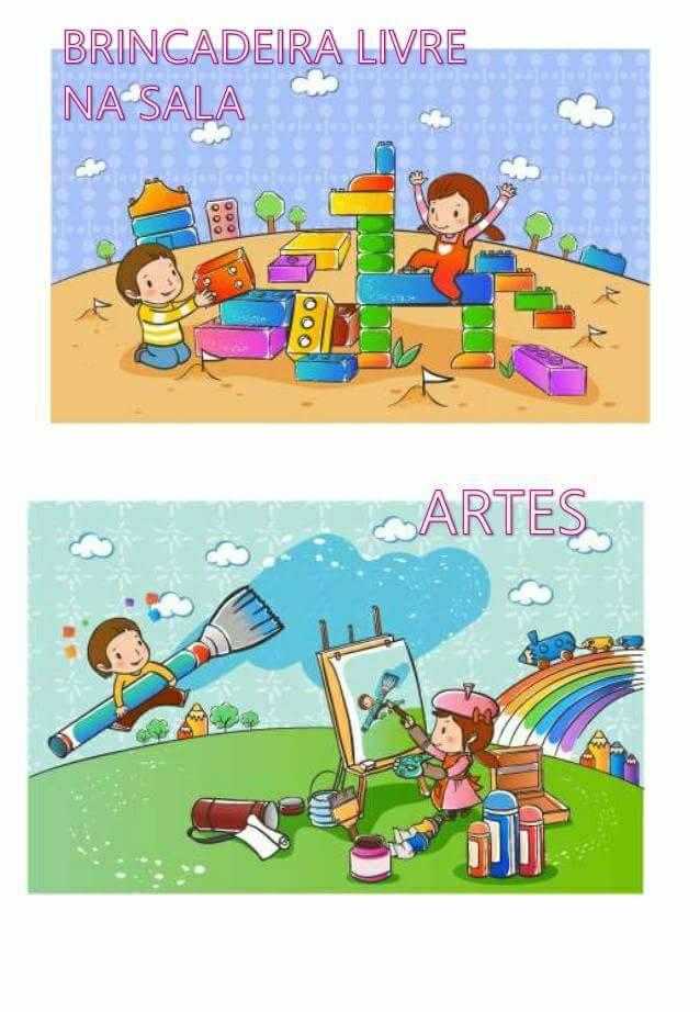 Cartazes para rotina da Educação Infantil - Para imprimir