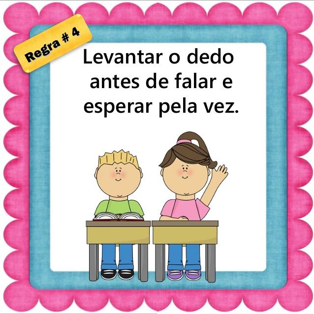 Combinados para sala de aula para Educação Infantil