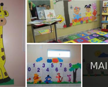 Decoração de sala de aula para Educação Infantil