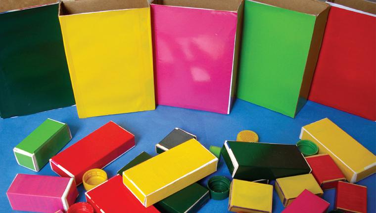 Projeto Cores -As cores do Arco-íris