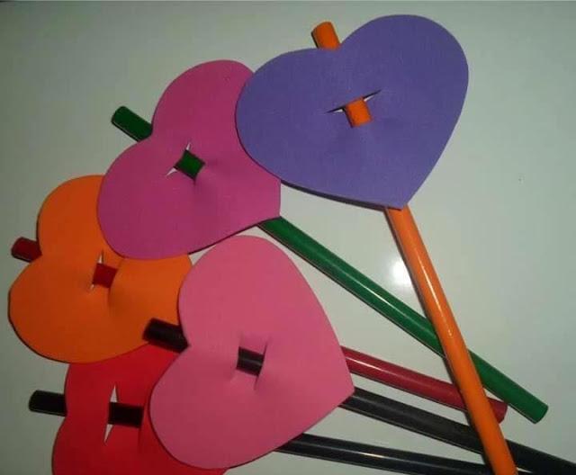 Lembrancinhas volta às aulas em EVA com moldes - Inicio do ano letivo