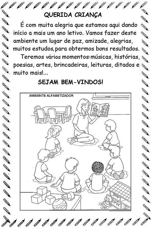 Texto para o primeiro dia de aula - Textos e Mensagens volta às aulas