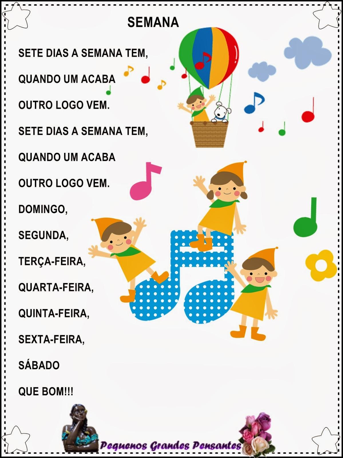 Músicas para Volta às Aulas - Rotina para alunos da Educação Infantil