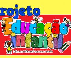Projeto volta às aulas educação infantil