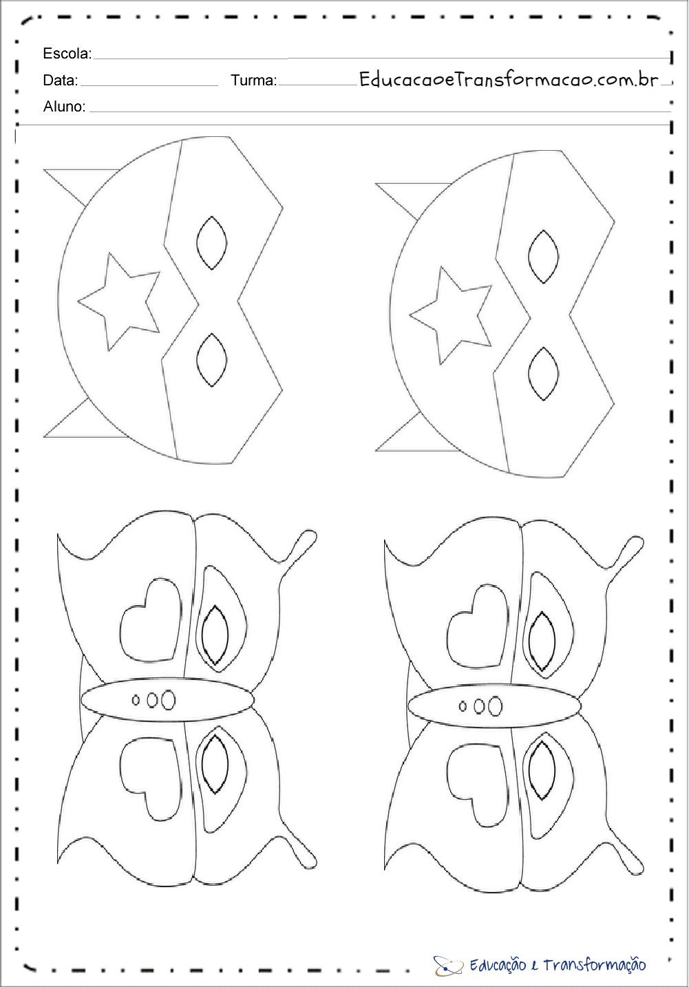 Atividades de Carnaval para Educação Infantil - Máscaras para colorir
