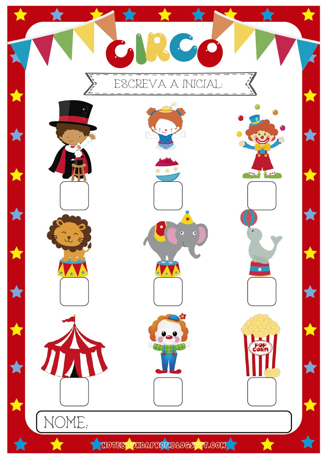 Atividades Dia do Circo