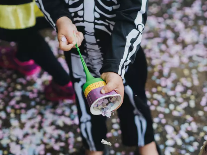 Lançador de Confetes para Carnaval