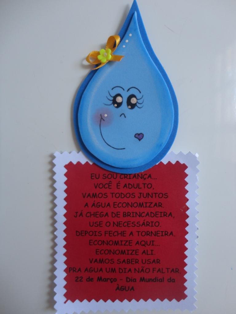 Lembrancinhas Dia da Água ou Dia Mundial da Água
