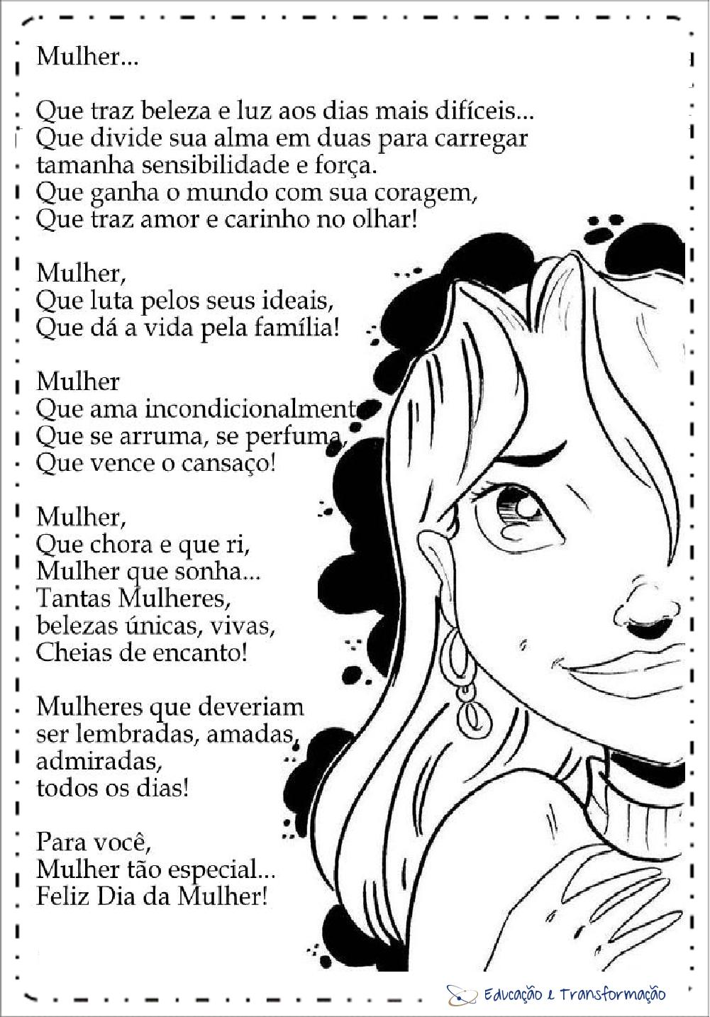 Lembrancinhas dia internacional da mulher - 8 de Março