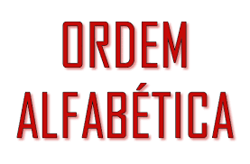 Letras do alfabeto