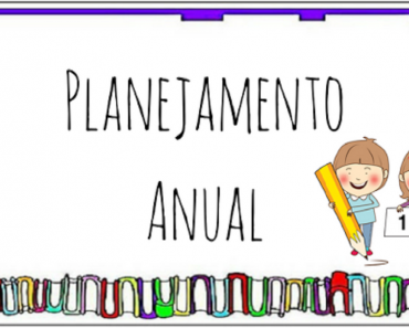 Planejamento anual 1 ano do Ensino Fundamental