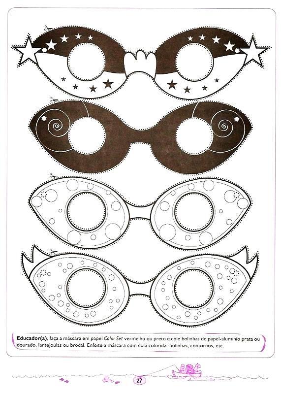 Projeto Carnaval Educação Infantil – Máscaras