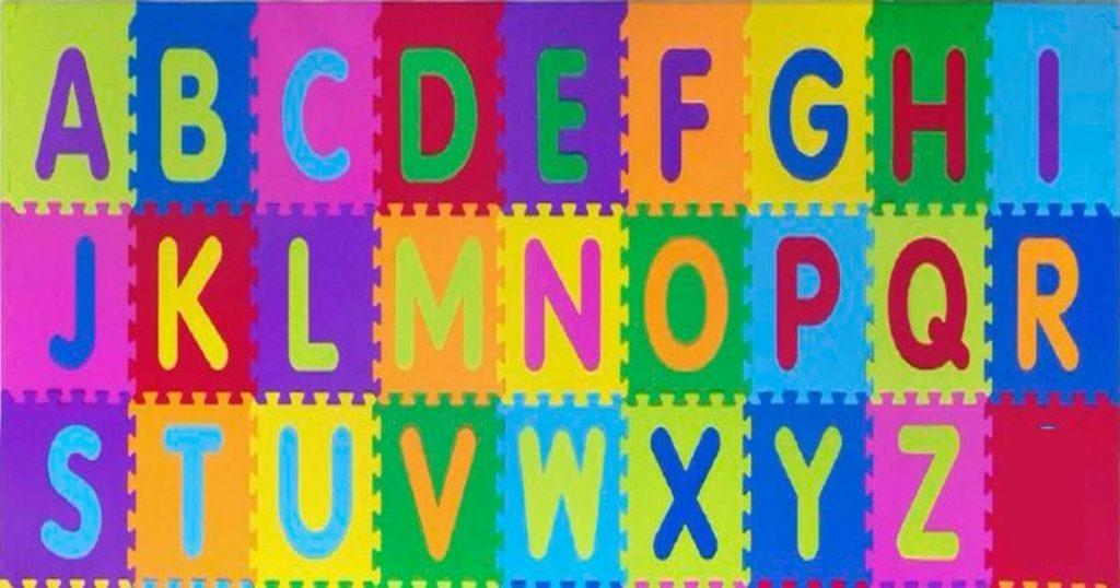Quantas letras tem o alfabeto?