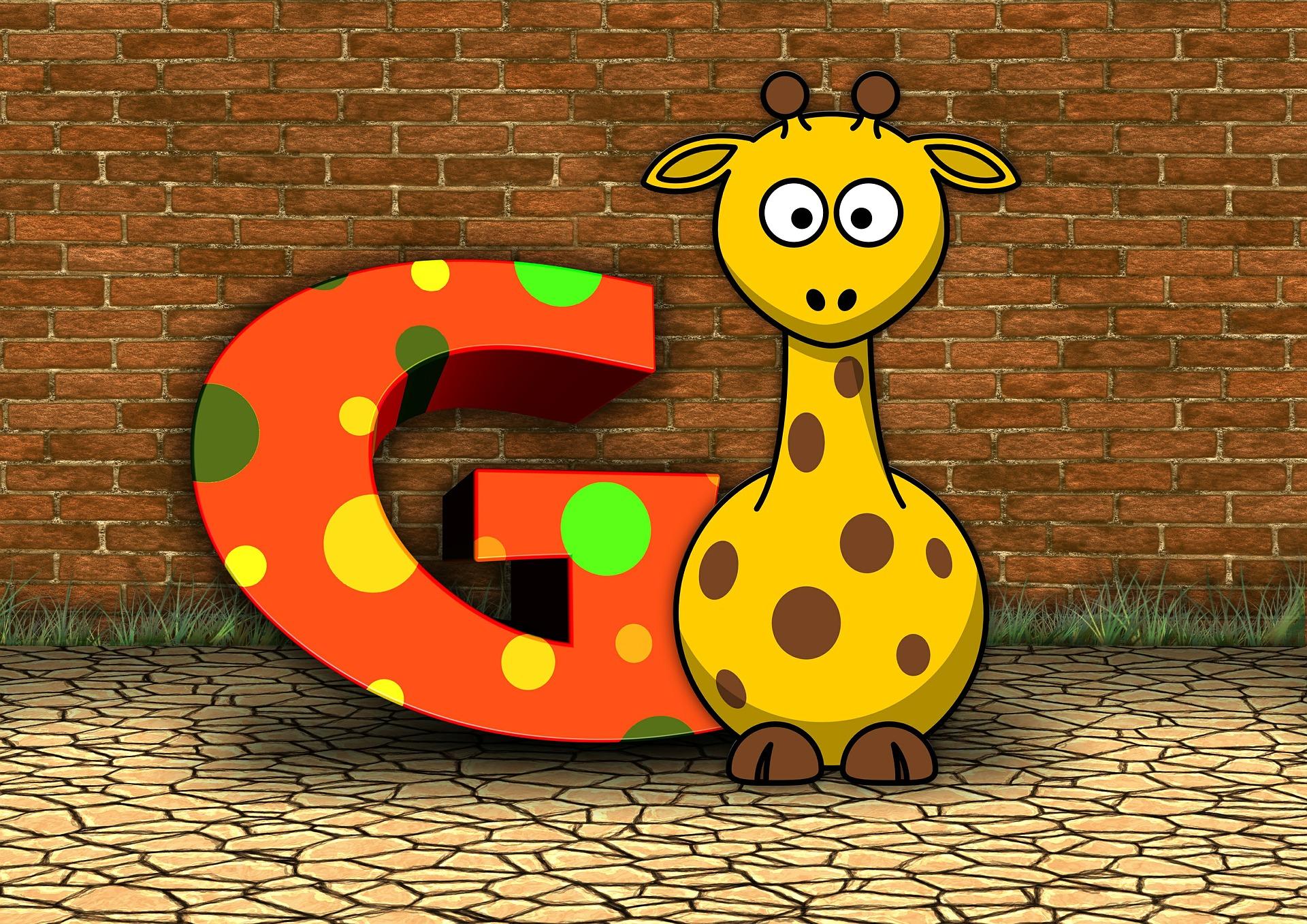 Atividades com a letra G - Animais com G
