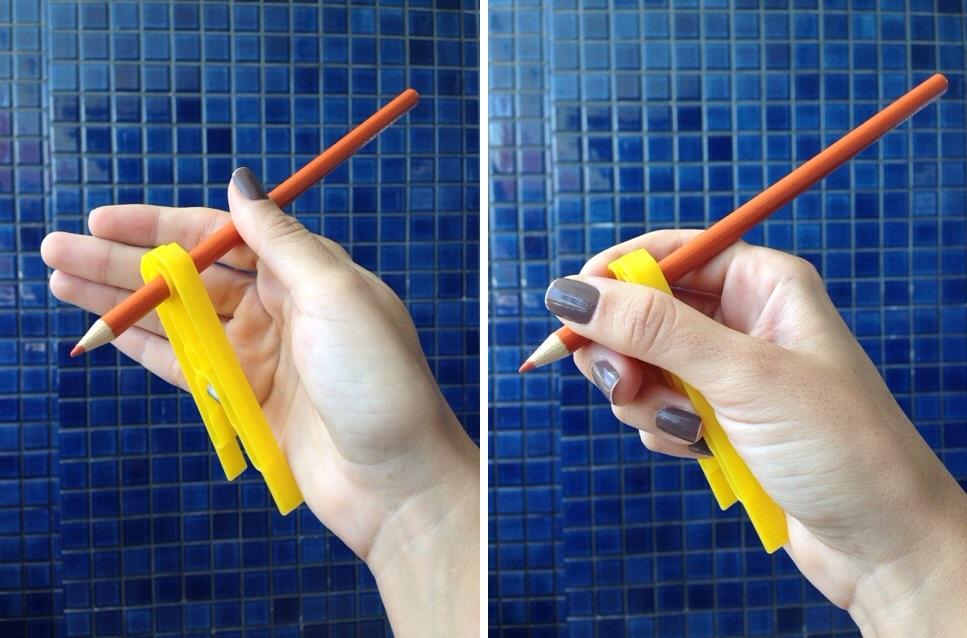 Atividades de Coordenação Motora - Movimento pinça com lápis
