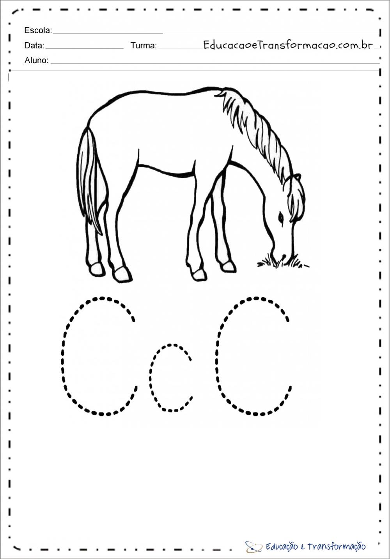 Atividades com a letra C