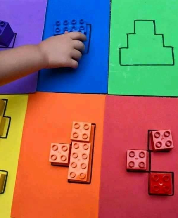 Atividades de Coordenação Motora – Trabalhando as cores